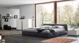 Bases tapizadas tela gigante china de la habitación de dormitorio