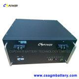 batteria del litio LiFePO4 di 19inch 48V100ah con l'interfaccia per la trasmissione dei dati
