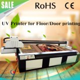 Stampante a base piatta UV di nuova struttura di legno di disegno per il pavimento/portello