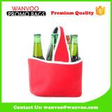 Изолированный мешок охладителя бутылки ликвора питья вина неопрена может держатель упаковки