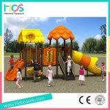 Apparatuur van de Speelplaats van de Speelplaats van de Jonge geitjes van het Pretpark de Openlucht (HS07301)