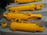 Mini cilindro Digger escavadora hidráulica do cilindro da máquina escavadora da roda do cilindro da máquina escavadora da mini
