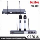 De UHF Draadloze Microfoon van de karaoke, de Dynamische Microfoon van de Studio