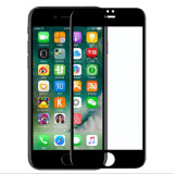 Fregar la película 3D 9h del protector de la pantalla del vidrio Tempered de la Anti-Huella digital de HD de cristal para antideslumbrante impermeable templada 7plus del alboroto al por menor del iPhone (XSPB-014)