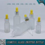 Kosmetik, die bereiftes Glas-wesentliches Öl-Tropfenzähler-Flasche verpackt