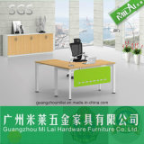Elegante moderne Stahlrahmen-leitende Stellung-Tisch-Möbel mit Farbanstrich