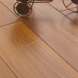 Suelo de madera dirigido teca de madera de Birmania del suelo de la madera dura de la teca del suelo