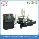 Holzbearbeitung-Maschinerie CNC-Fräser für das Tafel-Spalte-Schnitzen