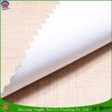 Poliester tejido que cubre la tela impermeable de la cortina de ventana del apagón del franco