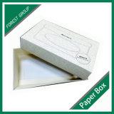Rectángulo de papel reciclado fabricante del tejido con la tapa