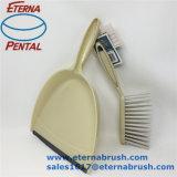 Dustpan da venda quente & jogo de escova plásticos para a tabela