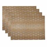 Isolation classique d'armure de jacquard Placemat tissé par textile antidérapant pour le dessus de table