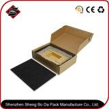 Rectángulo acanalado de encargo del cartón de la impresión colorida para los productos electrónicos