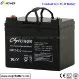 bateria CS12-33D da bateria de armazenamento VRLA da bateria solar de 12V 33ah
