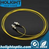 Cuerda de corrección óptica de fibra FC al amarillo de FC 0.9m m SM