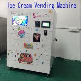 Máquina de Vending macia automática do gelado de 3 sabores