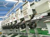 Головная профессиональная машина Wy910c вышивки крышки массового производства 10
