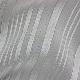 金属光沢夏の衣服のためのしまのあるポリエステルファブリック
