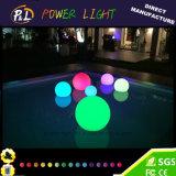 Oben sich hin- und herbewegende Plastikglühen-Kugeln des pool-Licht-beleuchten LED
