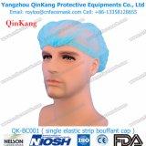 Casquillo no tejido disponible del cirujano del equipamiento médico con el elástico