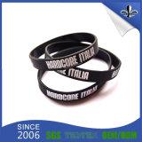 Immediatamente braccialetti del silicone dei Wristbands del campione DIY