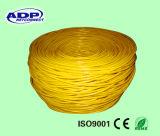 La comunicación cablegrafía el cable de interior del cable UTP Cat5e de la red RJ45