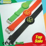フィットネス・センターTk4100 Em4200はシリコーンRFIDシーケンス腕時計のリスト・ストラップを防水する