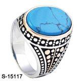 Ring van Juwelen 925 van de fabriek de In het groot Echte Zilveren voor de Mens