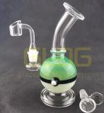 Conduite d'eau en verre de vente chaude de recycleurs d'équipement de TAPE de pétrole de Pokemon, pipe de fumage en verre de becher de fabrication