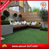Relvado sintético da grama para os jardins Home do telhado