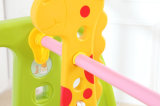 スライドおよび振動(HBS17001C)が付いている2017の普及した様式の赤ん坊のプラスチックおもちゃ