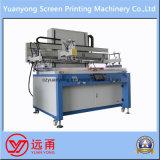 Impresora semiautomática de la pantalla de seda de la base plana