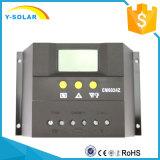Contrôleur / régulateur de charge solaire 60A 12V / 24V pour système photovoltaïque avec commutateur automatique Cm6024
