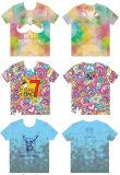 T-shirt fait sur commande de polo de couleur d'impression de coton ou de polyester pour les hommes de l'allumeur