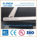 구리 코어 PVC에 의하여 격리되는 전선 케이블