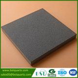 台所のための黒い石の表面の水晶カウンタートップ