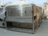 Túnel refrigerando Pasteurizing de aço inoxidável