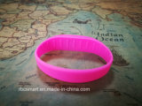 L'identification imperméable à l'eau ébrèche des bracelets de silicones de bracelet d'IDENTIFICATION RF de Lf/Hf/UHF