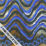 Linha curvada tela de nylon do laço do algodão do projeto