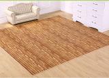 Couvre-tapis de verrouillage d'étage d'EVA des graines en bois