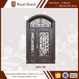 Porte d'église/porte de cadre de porte/en aluminium en aluminium double de lame