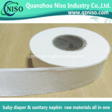 Papier absorbant de sève remplaçable pour les matières premières de serviette hygiénique (LS-F09)