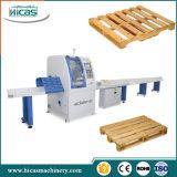 縦桁木パレットを作るための自動生産ライン