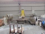 Cortadora de piedra automática del puente con la guía del laser