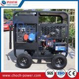 conjunto de generación diesel refrescado aire del marco abierto 10kw