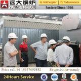 Dzl2-1.0-Aii 2ton/H 10bar 종이 &, 섬유 산업 포장을%s 석탄에 의하여 발사되는 증기 보일러, 야자유 기업