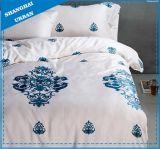 Matéria têxtil impressa algodão da HOME da tampa do Duvet do projeto de Vitoria