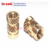 Noix de garniture intérieure filetée de double pour thermoplastique