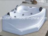 BALNEARIO de la bañera del masaje de la esquina del sector de 1200m m con el Ce RoHS (AT-0743)