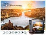 El deporte DV del deporte DV 2.0 antis ' Ltps LCD WiFi de la función ultra HD 4k de la sacudida del girocompás impermeabiliza la leva